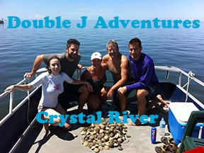 Crystal River scalloing with Double J Adventures