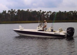 Crystal River scalloping charters - Captain Lex Barnes