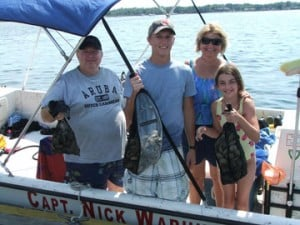 nick scalloping boat