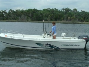 Crystal River Scalloping - Captain Joanna Roe