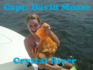 Crystal river scalloping with captain david moore