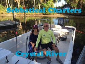 Crystal River scalloping with Sebbatical Charters