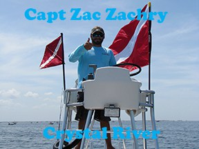 Crystal River scalloing with captain Zac Zachery