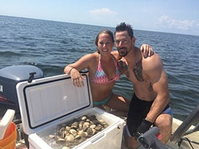 a day of scalloping in homosassa