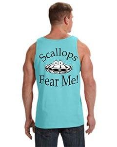 scuba blue fear me tank