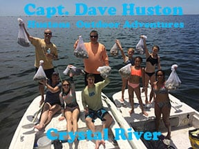 Crystal River scalloping charters with Crystal Rvier Watersports