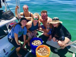 Crystal River Scalloping Charters Captain Frank Crawford